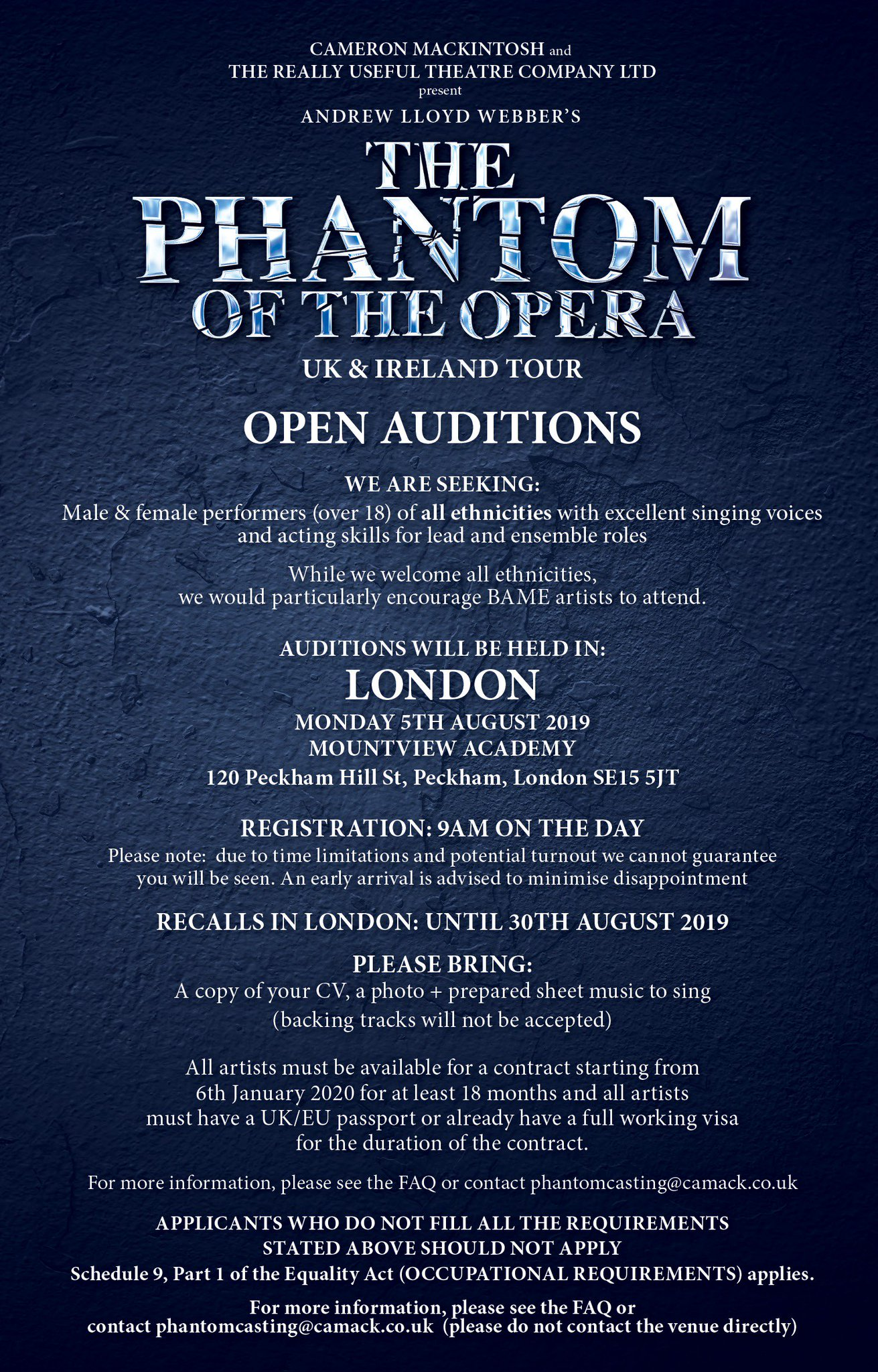 The Phantom Of The Opera on Twitter: