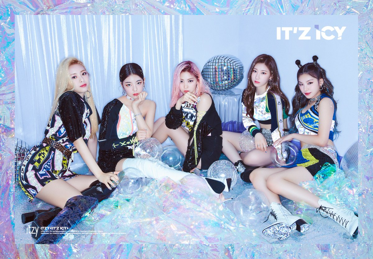 Itzy Comeback Teasers It Z Icy 29 07 2019 Kpopsource