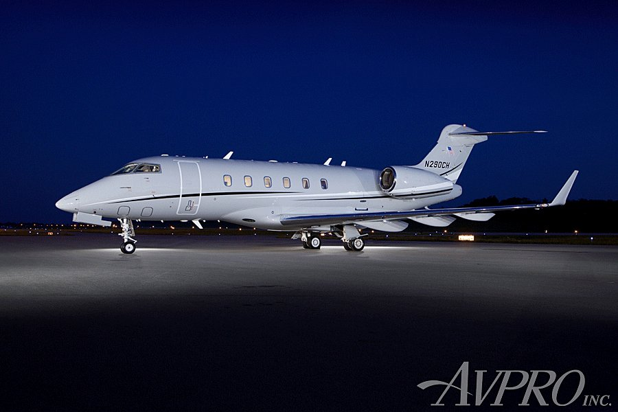 This 2005 #BombardierChallenger 300 for sale by @AvproJets is presented with Collins Proline 21 Advanced Cockpit and Synthetic Vision.  For more information and images click here http://ow.ly/S6dS50uWAvJ #jetsforsale