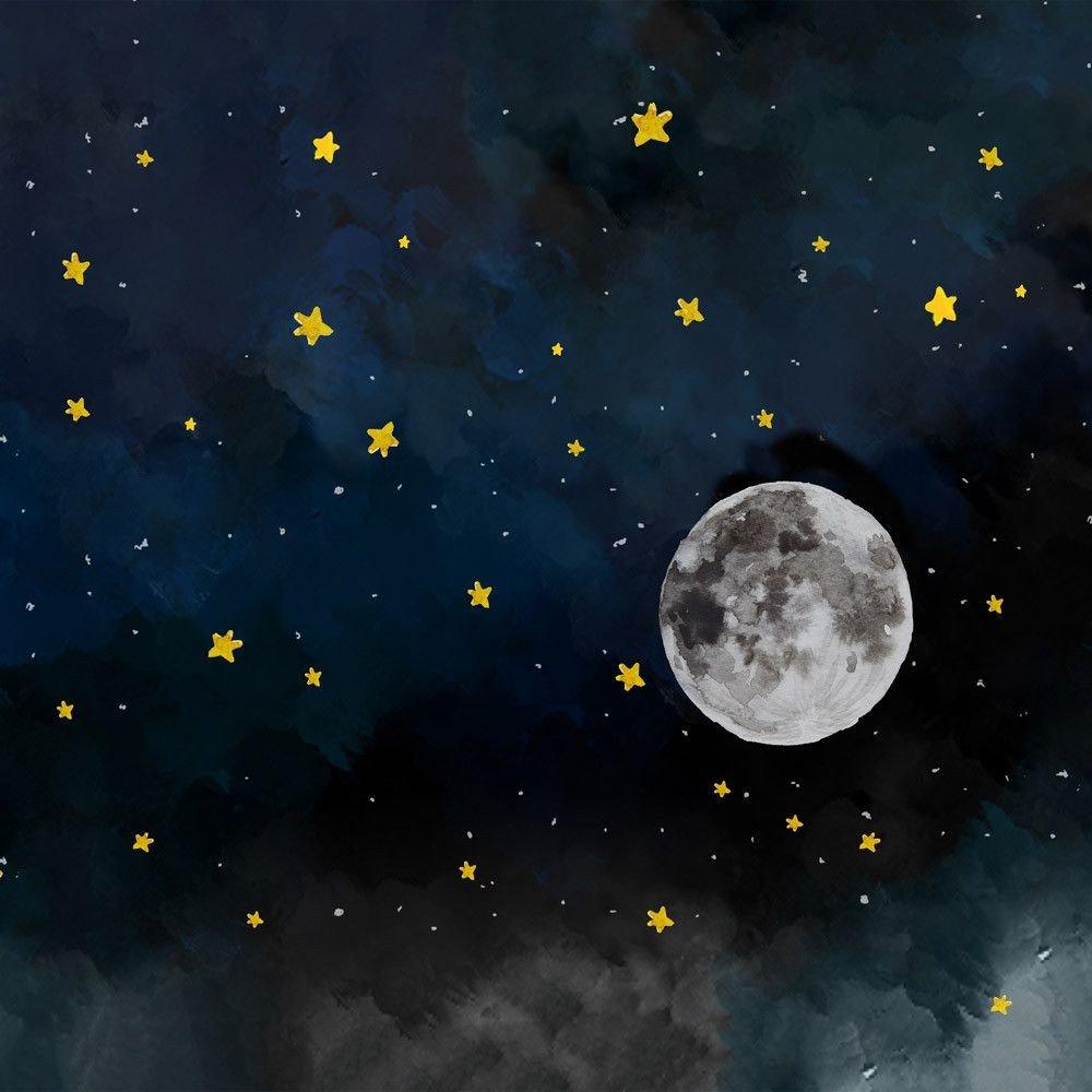 несомненно, одно луна на небе рисунок болит, как при