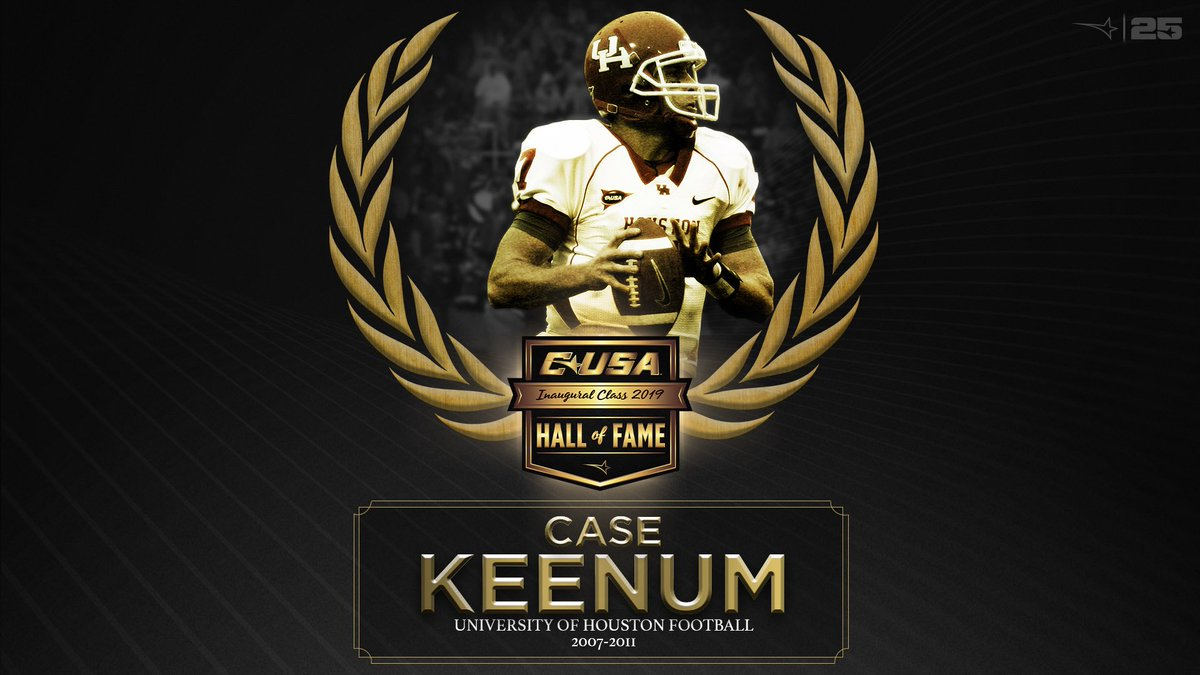 Case Keenum inducted into Conference USA Hall of Fame