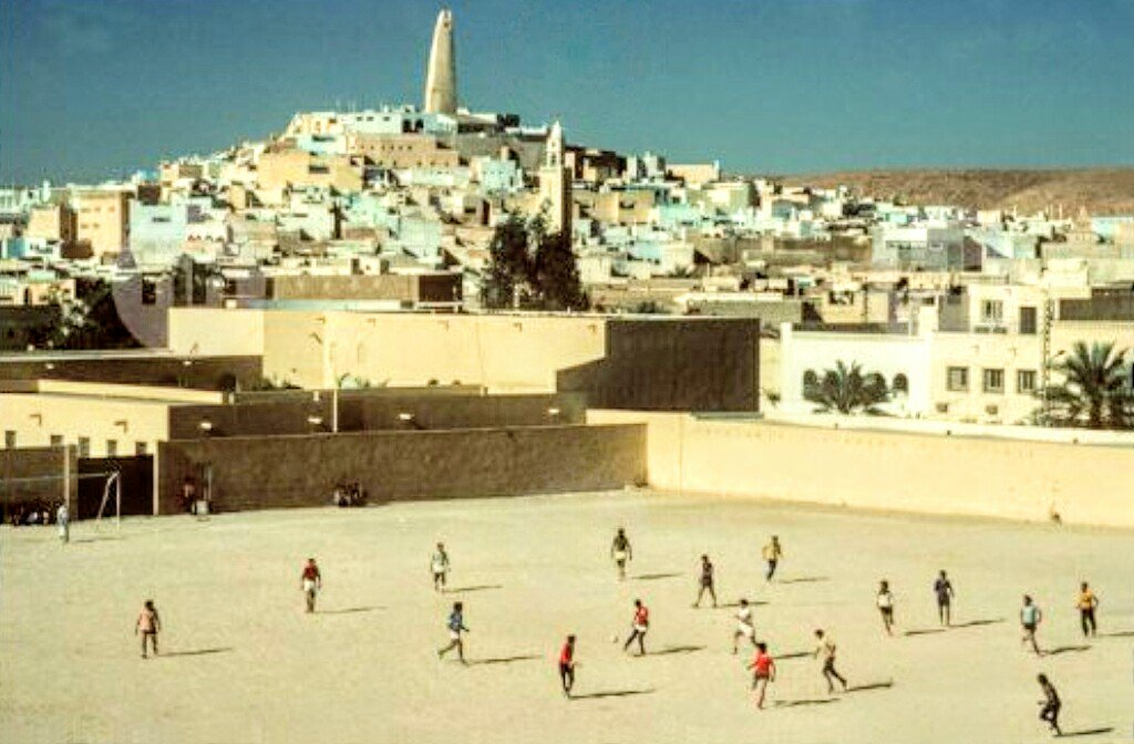 "MotherSoccer on Twitter: ""The city of Ghardaia, Algeria (1982 ..."