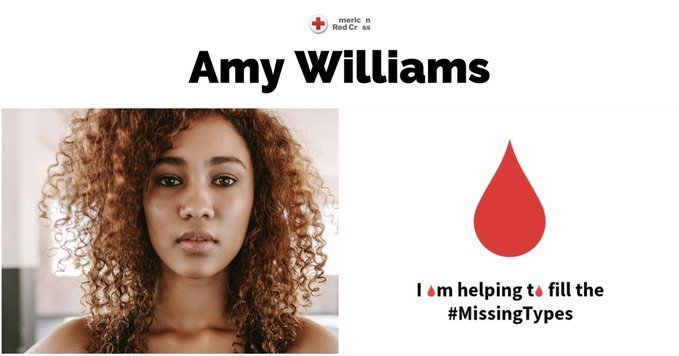 Are you donating blood today for #WorldBloodDonorDay? Take your donation a step further. Share #MissingTypesxAdobe using our custom @AdobeSpark templates and we'll donate $10, up to $10k. Learn more: https://adobe.ly/2IE4n00