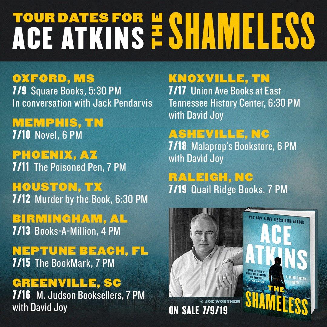 Image result for ace atkins shameless
