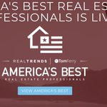 America's Best Real Estate Professional Rankings is LIVE!! Check out the rankings - https://t.co/vfBGWJoxz0 And while you're at it take a look at our marketing packages too! https://t.co/x4Sd9CmG4p