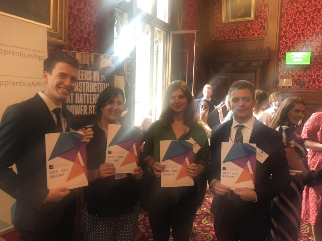 Delighted to support @ApprenticeAPPG report launch. Thank you @KPMG and @BatterseaPwrStn for supporting and to the co-chairs @CatMcKinnell and @GillianKeegan and to @GordonMarsden for speaking