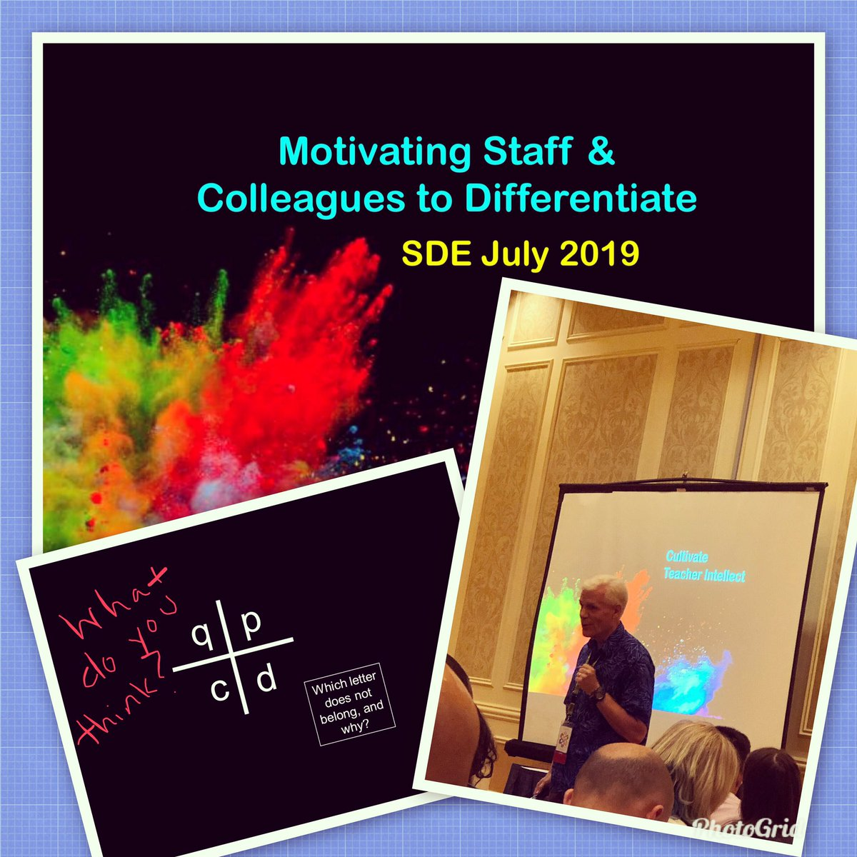 #sdeevents #sde2019 #SDENationals Getting motivated! #FosterJoyfulLearning #WeAreCrane  @rickwormeli2<br>http://pic.twitter.com/S1fwRRG93A