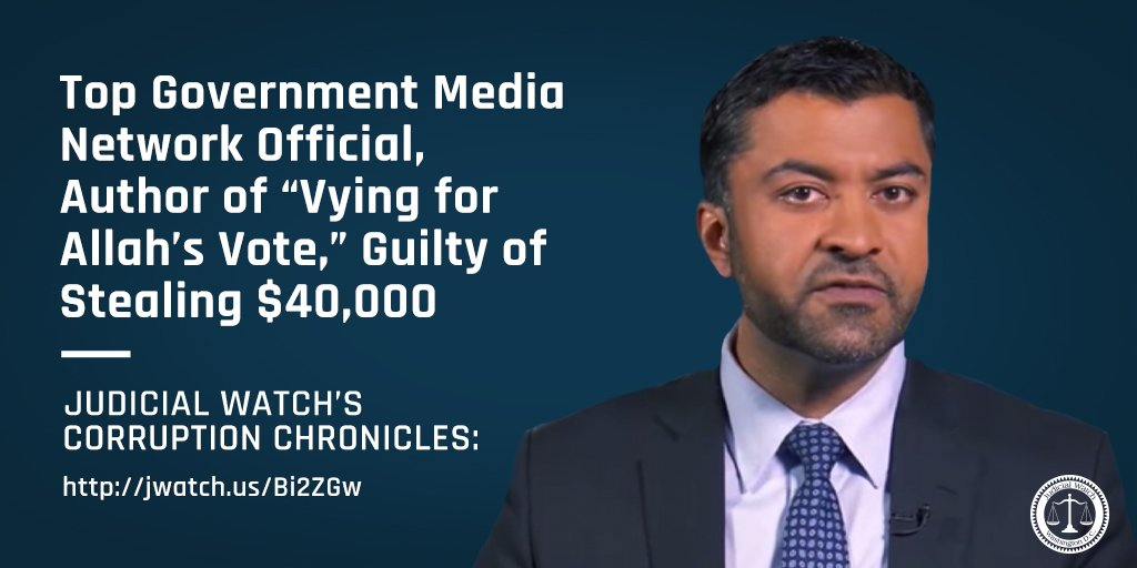 The disgraced senior Obama-appointed govt official at the U.S. Agency for Global Media, Haroon K. Ullah, admitted that he fraudulently obtained 40k in govt funds by falsifying hotel invoices, fake taxi receipts & billing Uncle Sam for personal travel. http://jwatch.us/bJszSz