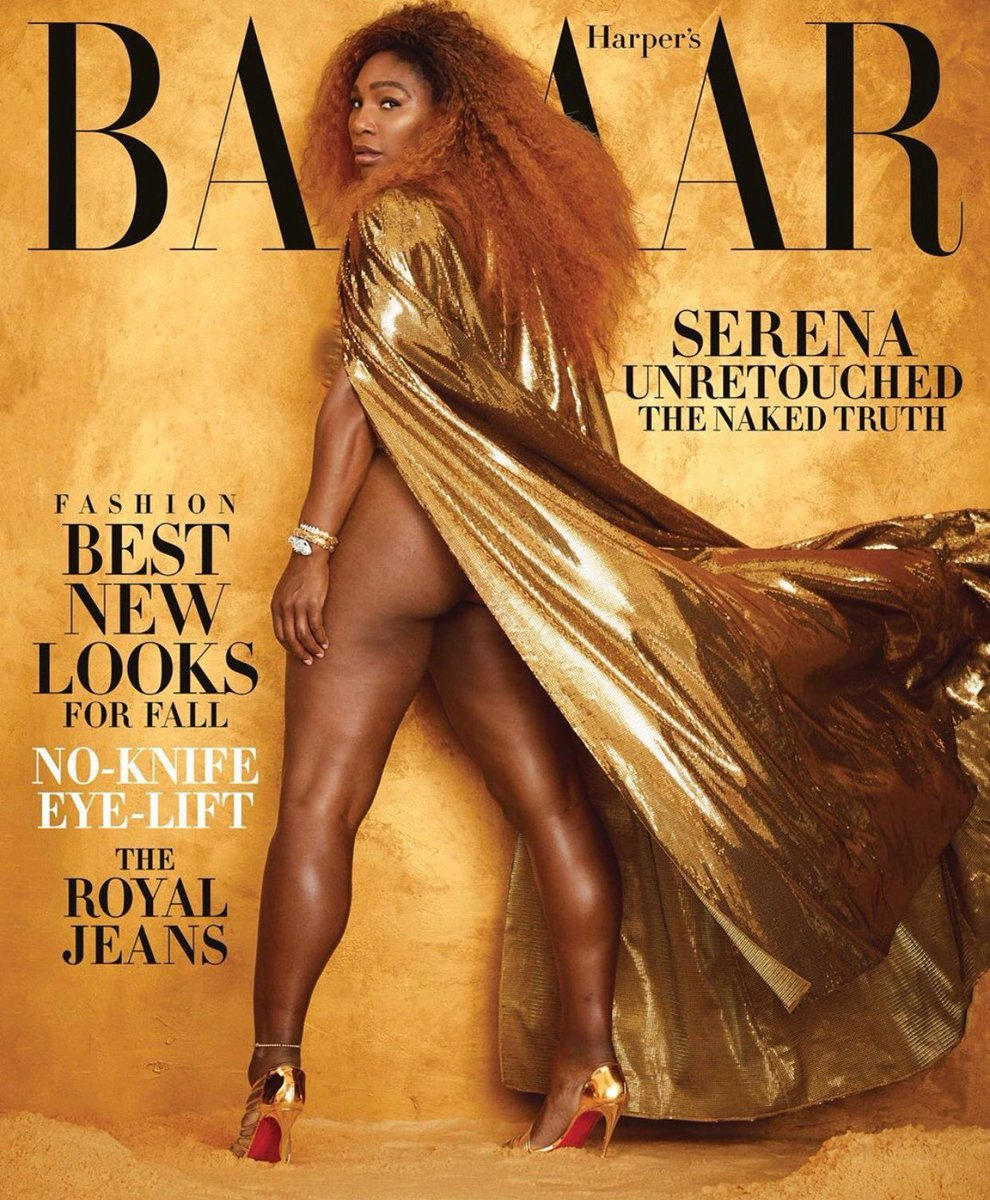 """God Is Good All The Time"" - 50 Cent Reacts To Serena Williams Bared Butt On Magazine Cover"