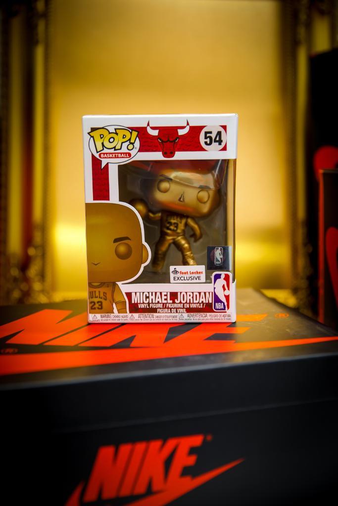 quality design ad1ef 2be15 Ad: Available via NBA Store EU Michael Jordan Funko Bronze ...