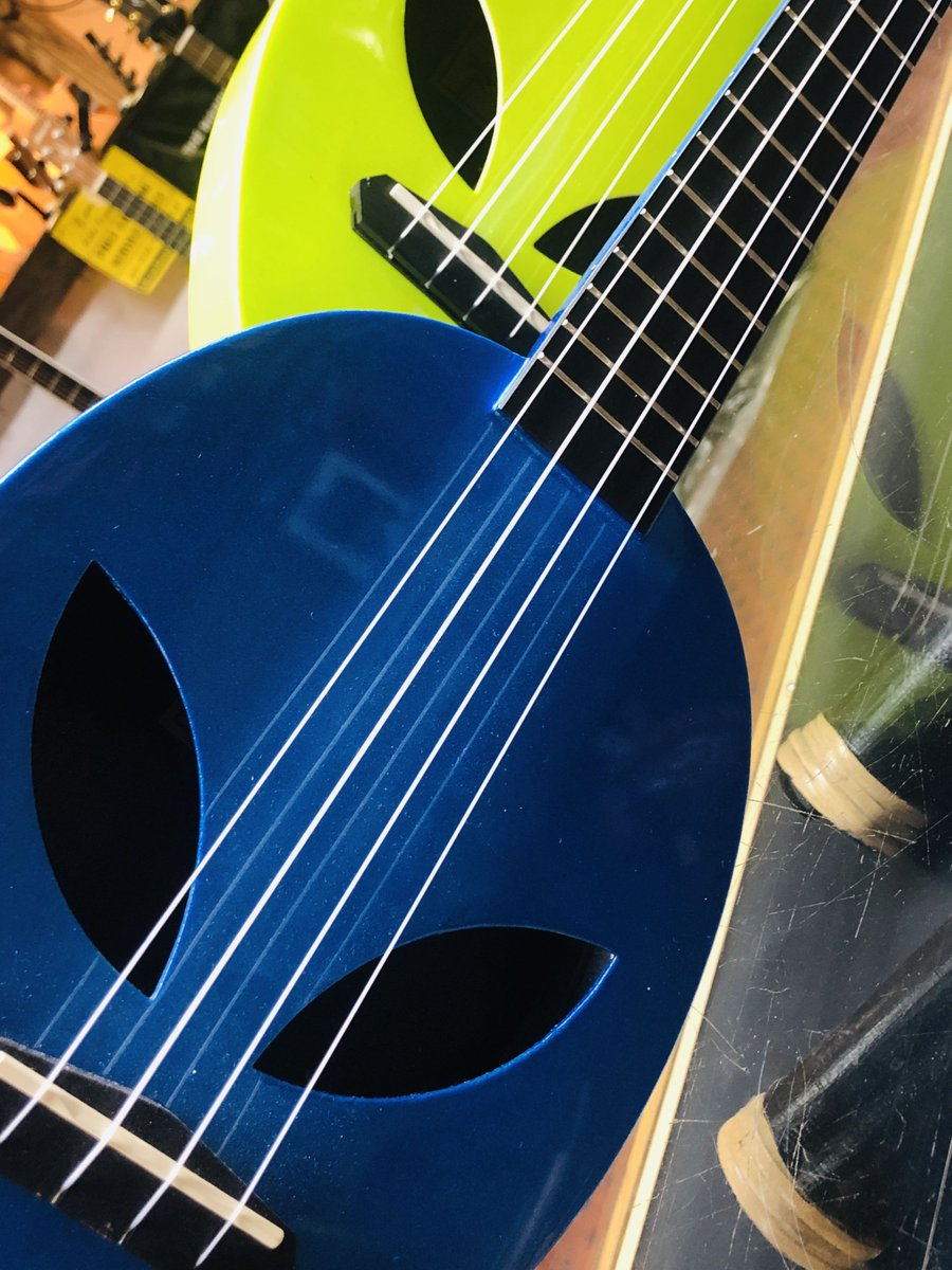 Perfect for the little ones to make some sweet music camping or at the cottage watching the stars. Maybe even shooting stars OR something else flying in the sky...... Alien face ukuleles in stock - on sale - ready to go! Carry bag included! #wearemusic #ukulele #alienuke<br>http://pic.twitter.com/6GxFgerono