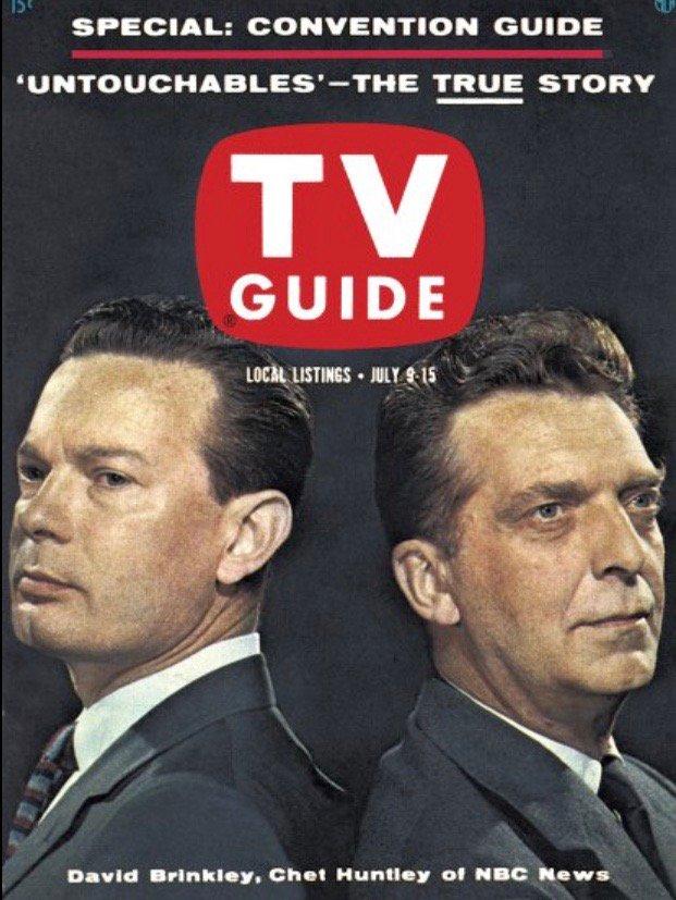 """Michael Beschloss on Twitter: """"TV Guide, this week 1960:… """""""