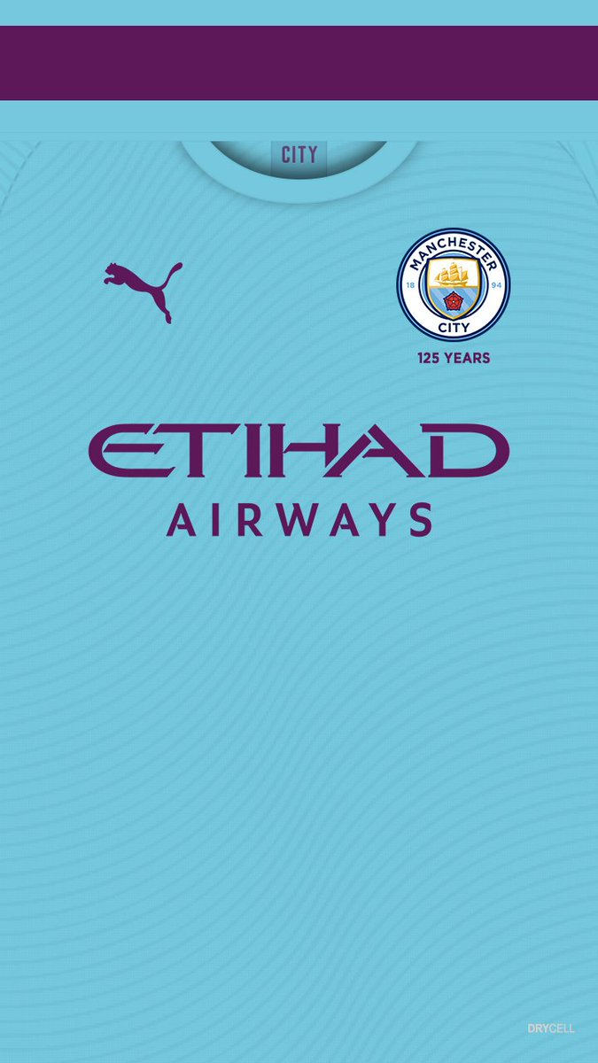 Fond D Ecran Ios Android Manchester City Home Away 19 20