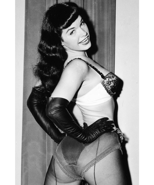 Bettie page autograph bunny yeager sexy photo