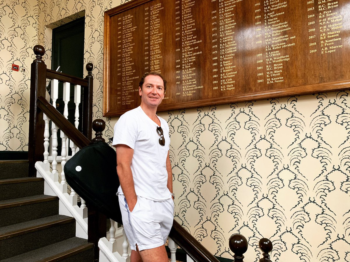 Exciting to get back onto the Queens Club grass courts this week post @QueensTennis #history #tennis #QueensClub #tennis #friends #london<br>http://pic.twitter.com/1CsLyqxl41