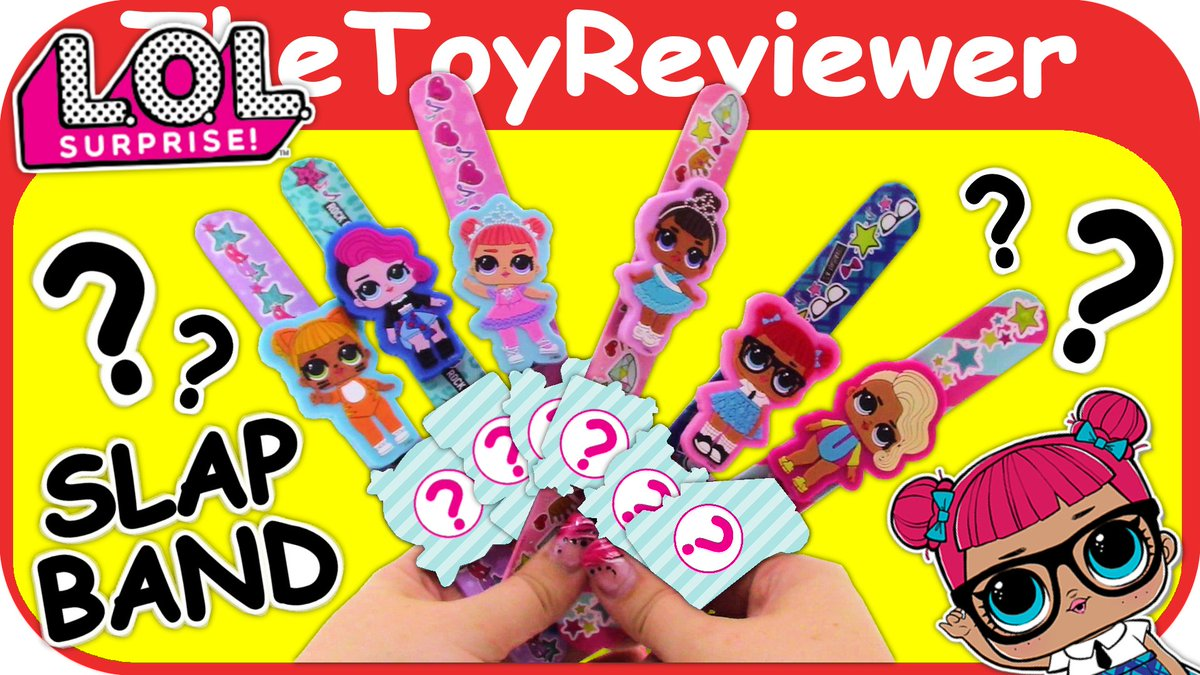 Check out the L O L  Surprise Slap Bands here: https://www youtube