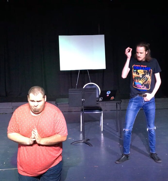 FRIDAY!! Jorts and Shorts Present: Working Title. The Devil's Lettuce, a noir mystery, gay cowboys, we have it all. For ONE NIGHT ONLY you can experience this original piece of absolute absurdity. https://azyoungactors.ticketleap.com/ayaa-play/ Get your tickets now!!pic.twitter.com/KOc5r8Q593