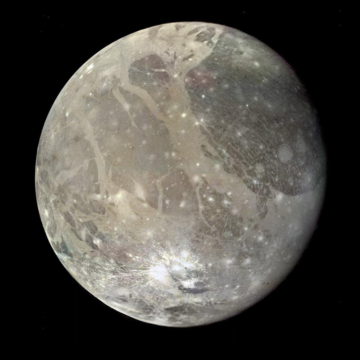 ganymede auroral belt shifting - HD1024×1024