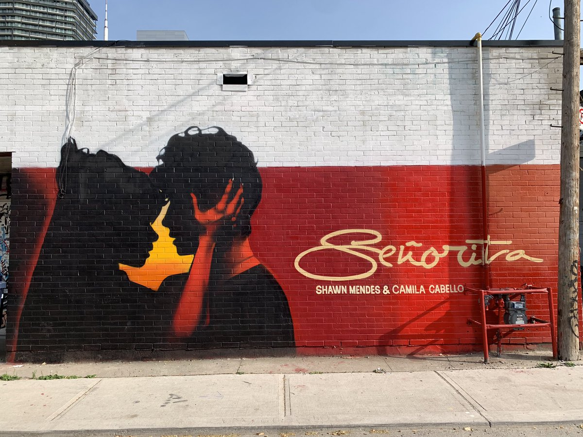 Look at who we just spotted in Toronto 👀💃🏻 #Señorita