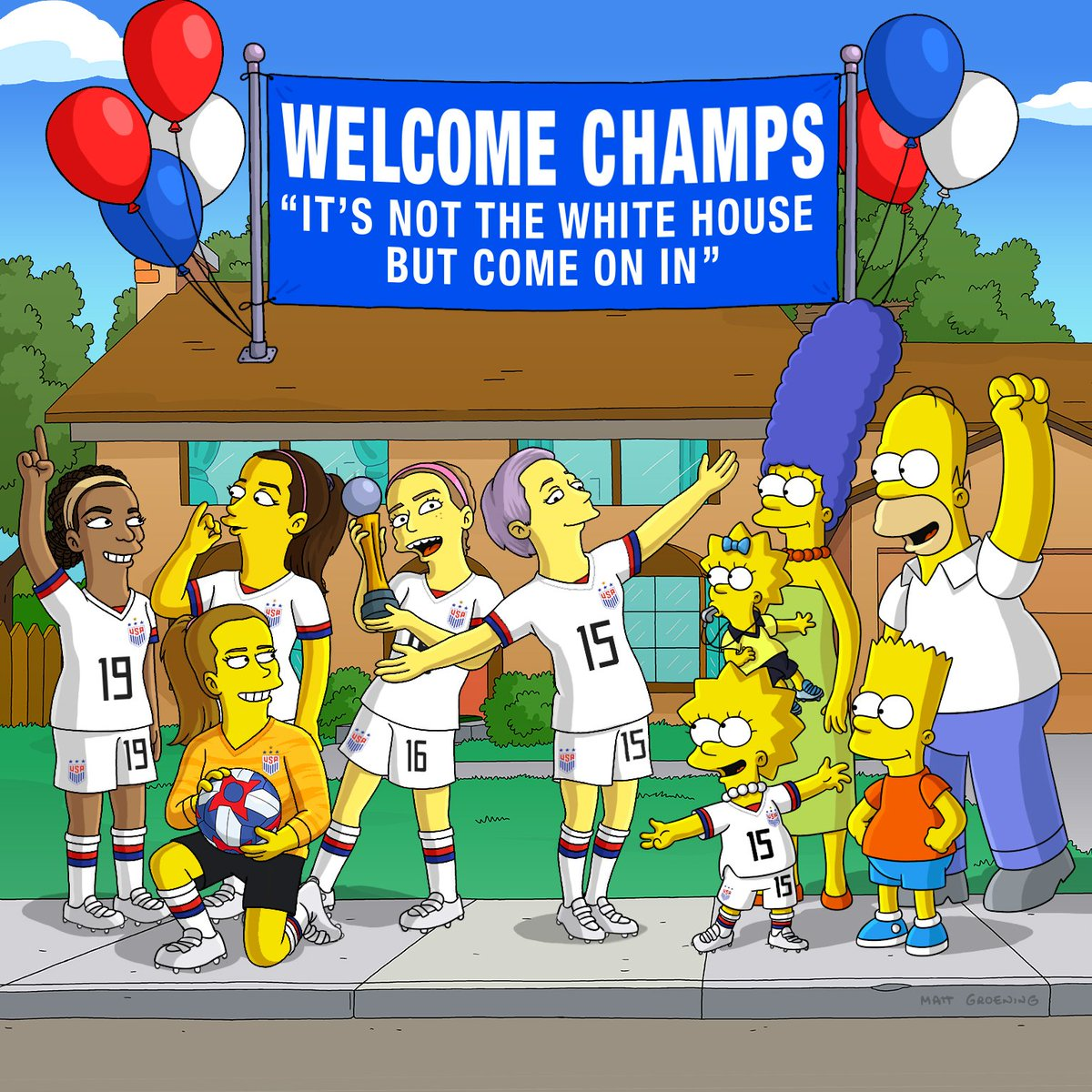 The Simpsons on Twitter: