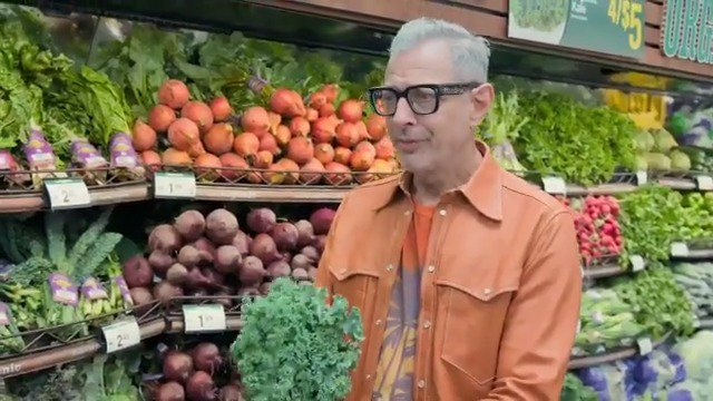 A touching moment with Jeff Goldblum @Kroger #ad