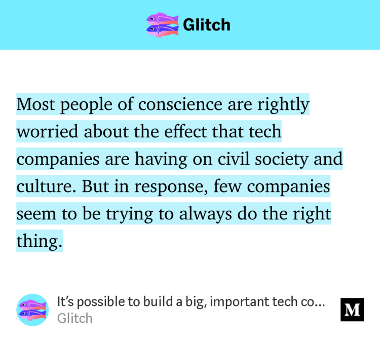 See Glitchs Company Culture - Idistracted