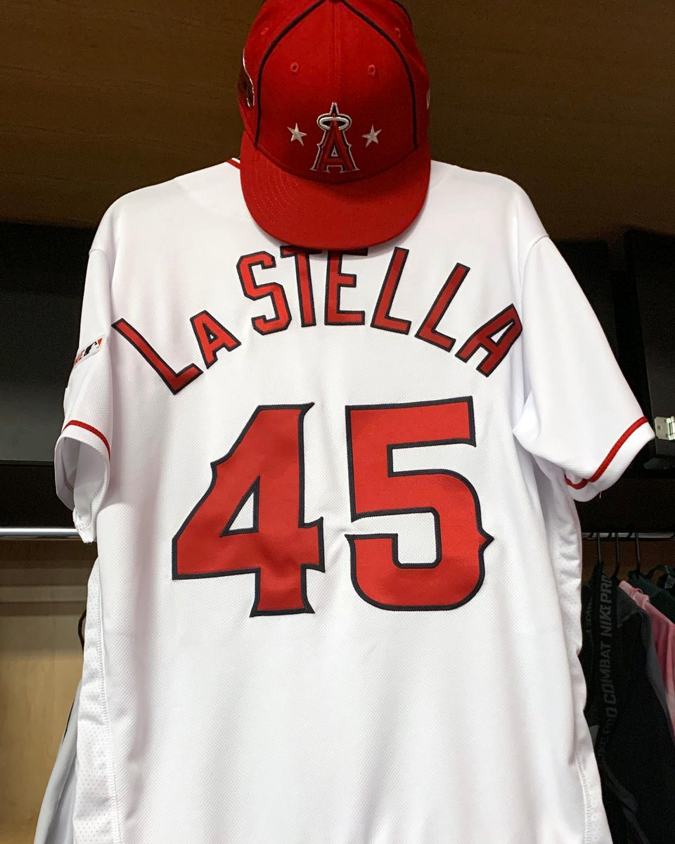Tommy La Stella and Mike Trout will remember teammate Tyler Skaggs during the All-Star Game by wearing his No. 45. <br>http://pic.twitter.com/Mun2JGZZ5n