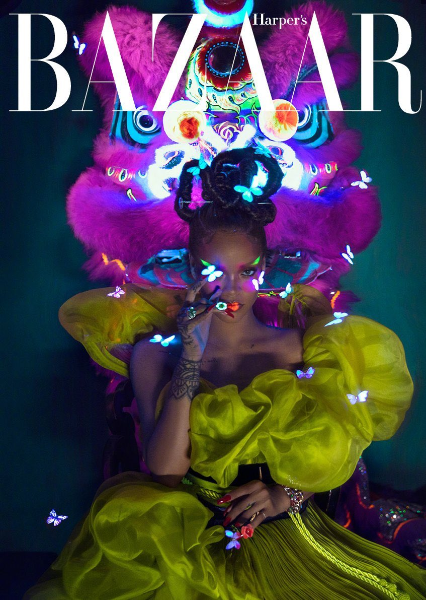 .@yusefhairnyc  coming through with this hair for #harpersbazaarchina  shot by @Chenmaner