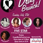 Image for the Tweet beginning: Bar Crawl, Drag Brunch &