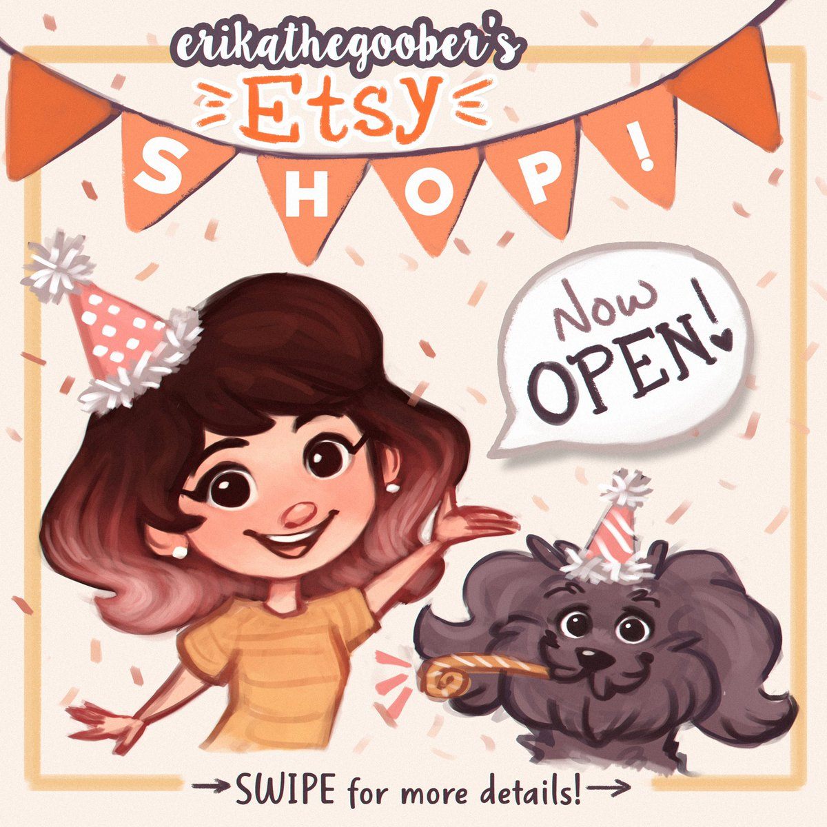 8b630f8f618e6 I opened my Etsy Print + Sticker Shop today! Check it out at http ...