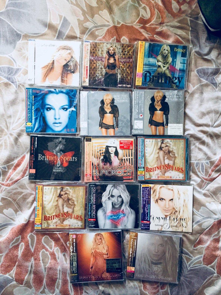 💿💪🏾💪🏾 #Blackout #BabyOneMoreTime20 #20YearsOfBritney cc @BritneySpesrs @TheBritneyArmy https://t.co/ueV3JsOJYT