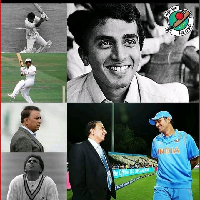 Happy birthday to legendary cricketer Sunil gavaskar.