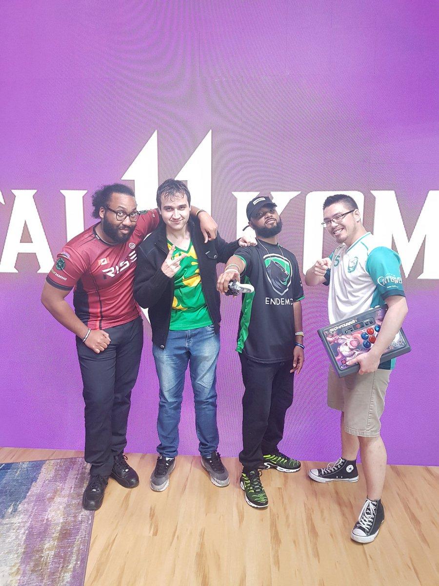 WE DID IT!! WE'RE THE CHAMPIONS @KBradJStorm @khscar12 @BiohazardCMNDR   The perfect team. Rushdown boyzzz, we did it. @TwitchEsports twitch rivals showdown Mortal Kombat 11 CHAMPIONSpic.twitter.com/yTMoWu5vu1