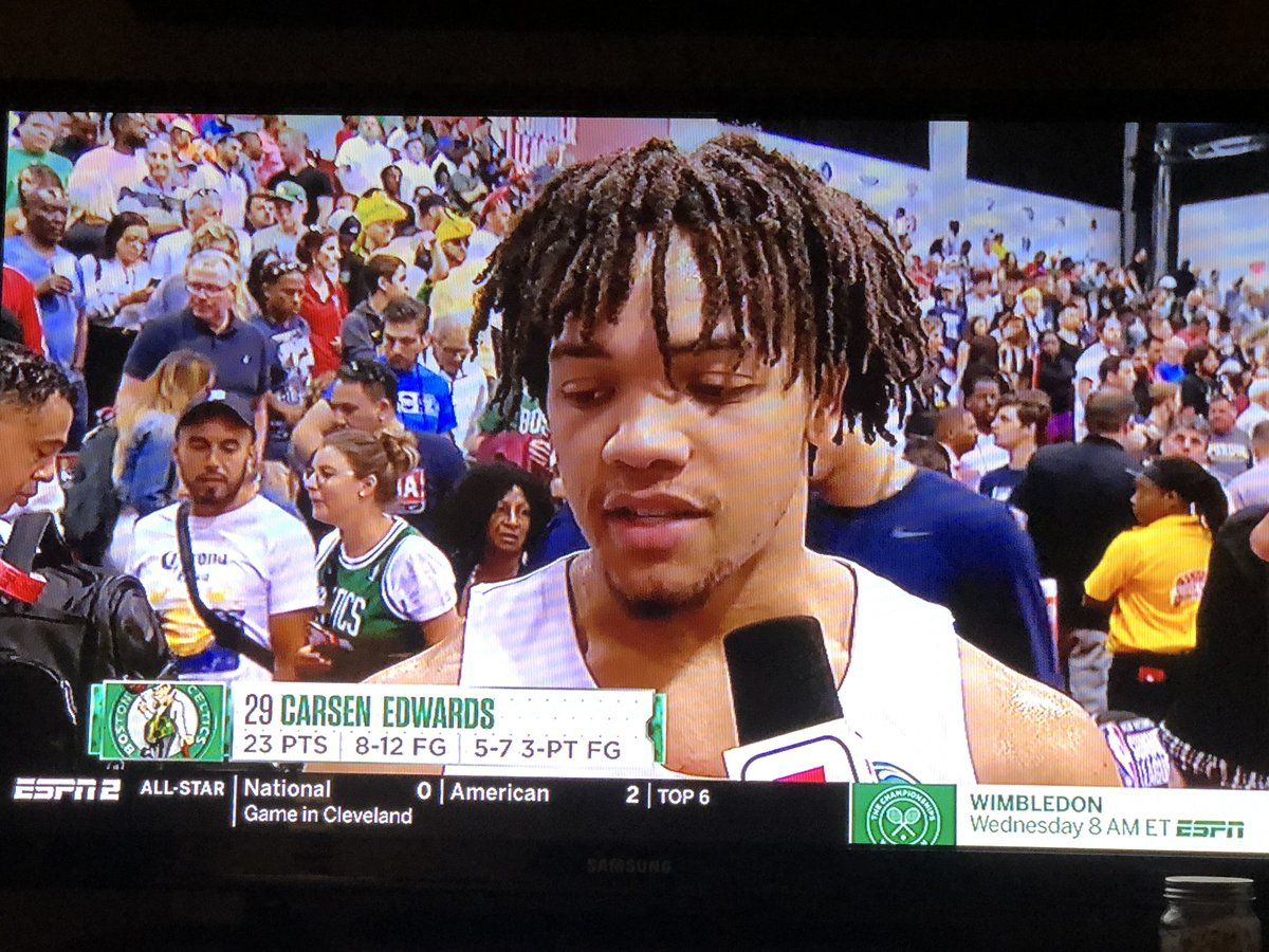 Another great night for Carsen Edwards.