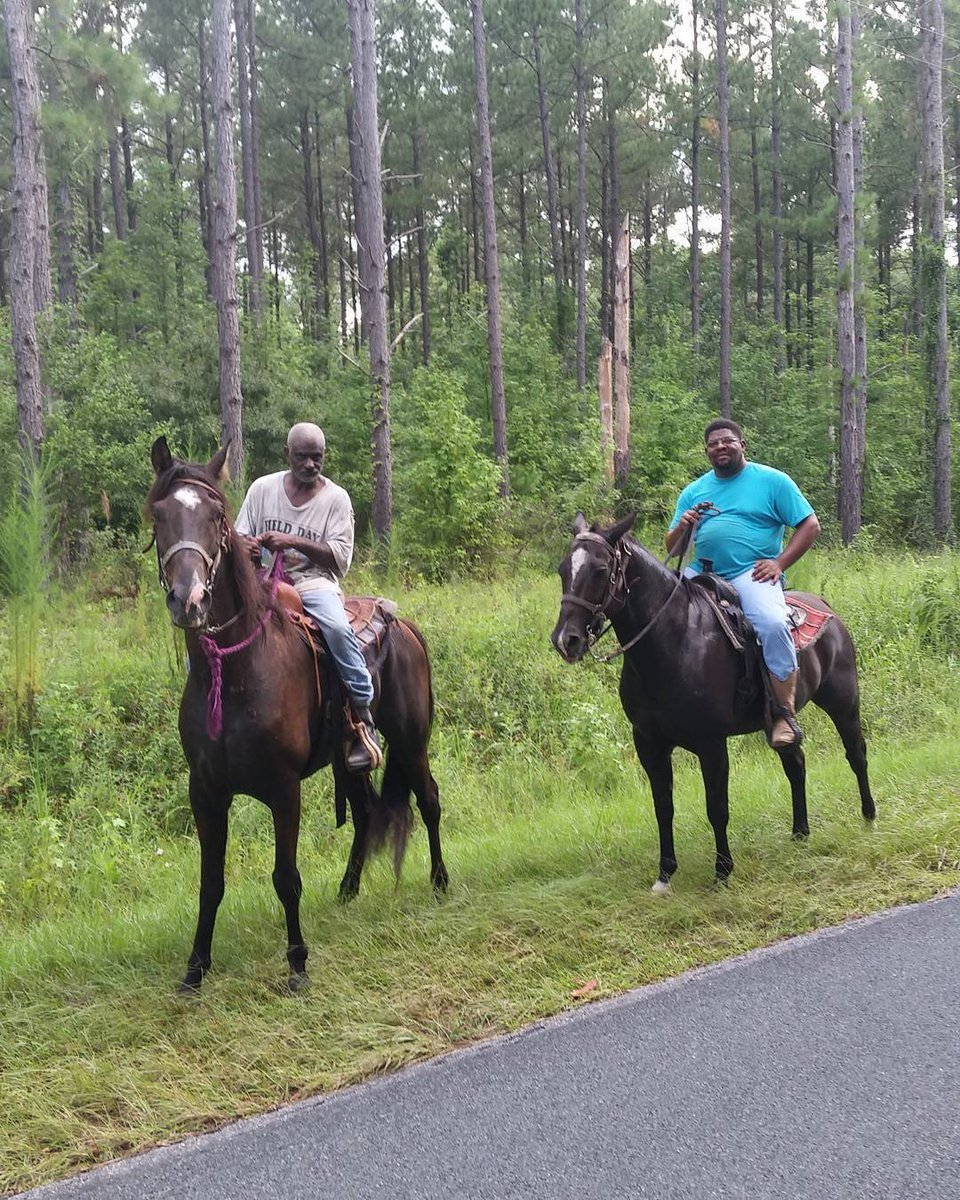 Go stream Old Town Road and here's a photo of two guys I crossed paths with down a backroad one day