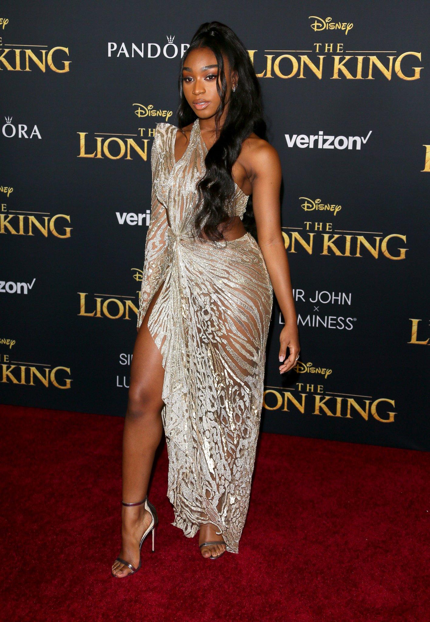 Image result for lion king premiere Normani