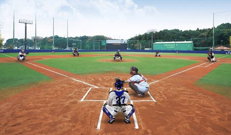 全員キャッチャーの野球