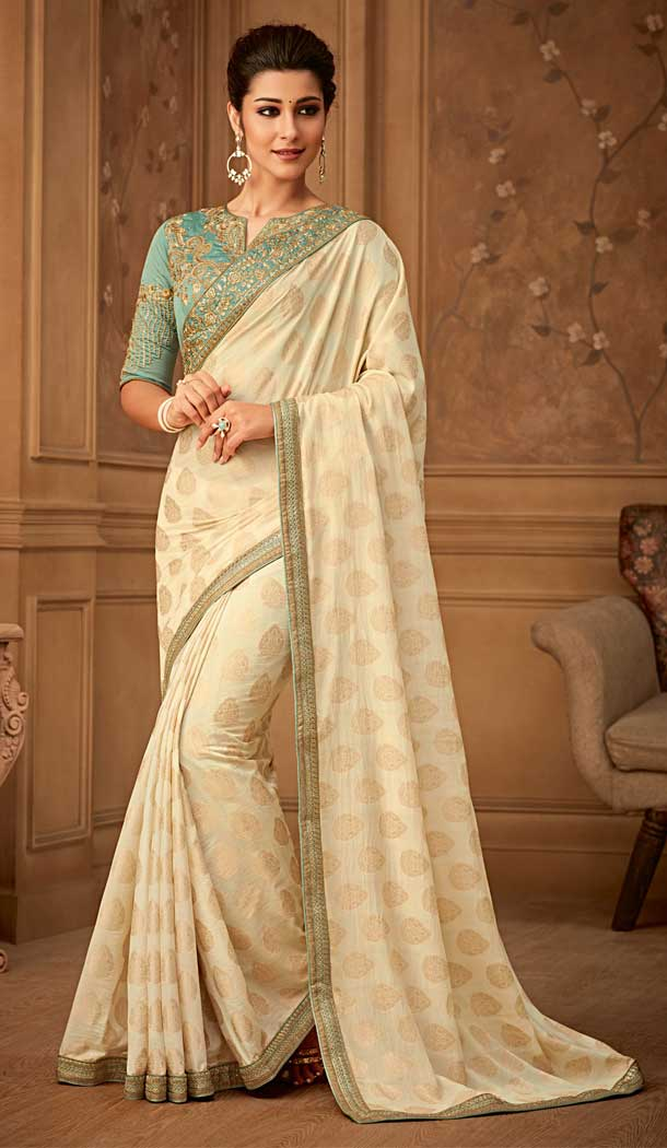 4e59815569 Buy Exclusive Designer Party Wear Saree Blouse Collection Up to 35% OFF Shop  at https://www.heenastyle.com/sarees/party-wear-sarees …
