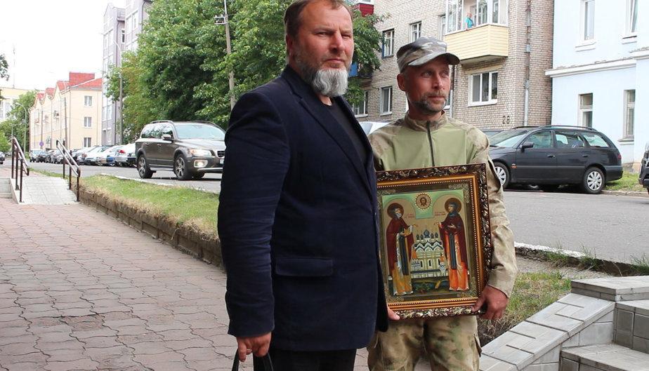 """Это не пиDорасы, Боже упаси. Это добропорядочные христиане из """"Вечернего Могилёва"""", которые не хотят смиренно переносить гомосячий террор на улицах белорусских городов. Люди доброй воли на вашей стороне."""