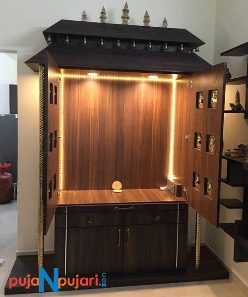 Puja N Pujari On Twitter Explore Latest Hindu Pooja Mandir Home Temple Pooja Rooms Designs Puja N Pujari Buy Decorative Pooja Mandir Online At Lowest Price In India Poojamandir Woodenpoojamandir Poojaroom Poojamandirforhome