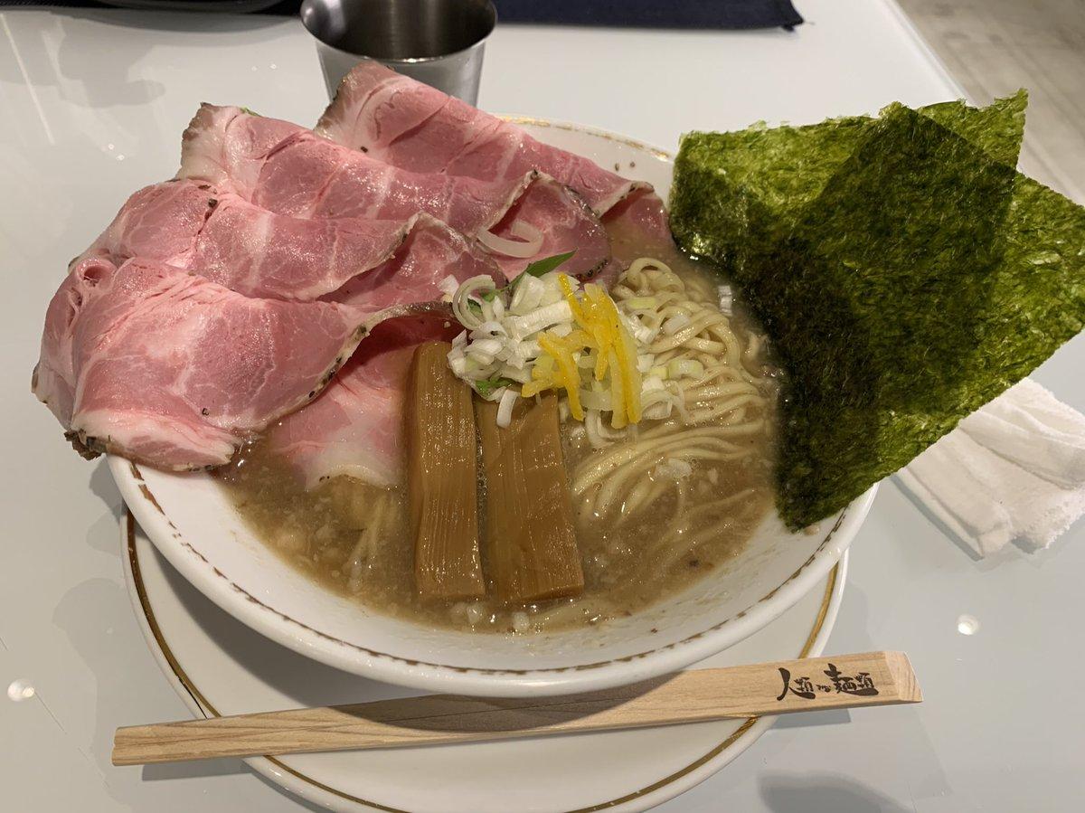 KASUMIラーメン全部のせ(卵切らしてて無し) 豚骨醤油!麺が美味い! #TAKAHIRORAMEN
