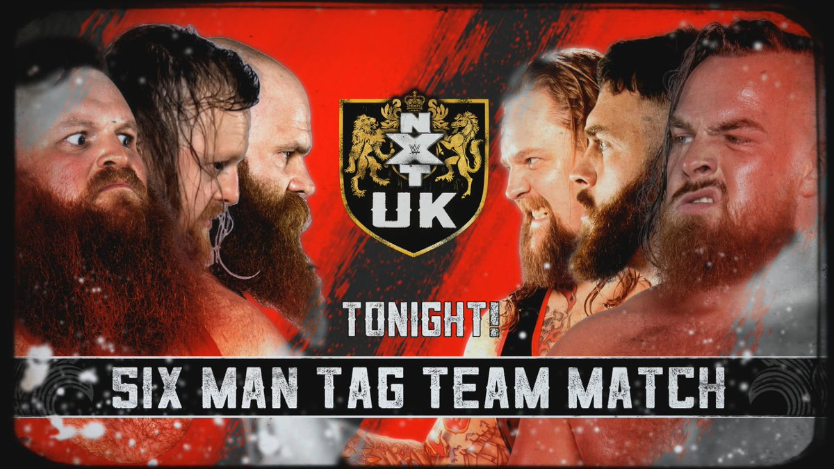 Never mind a wrestling match, this is going to be a war#TheHunt & @DaveMastiffVs #GallusTune in tonight on @WWENetwork 8pm UK 🇬🇧3pm EST 🇺🇸#NXTUK