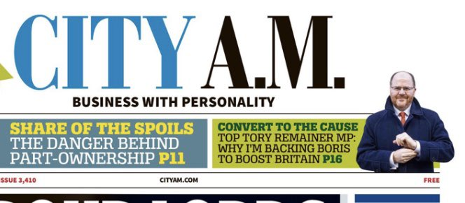 Brexit demands a much bolder economic vision for Britain - unleashing our Science & Innovation for global growth.    My piece in @CityAM this morning on why I'm backing @BorisJohnson to make us a global #InnovationNation:   https://www.cityam.com/boris-johnson-can-deliver-a-bold-economic-vision/…