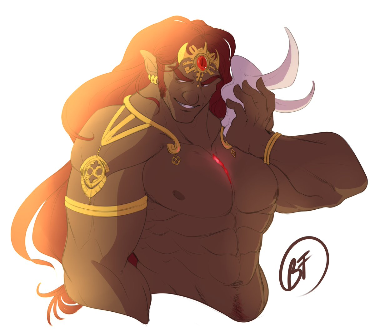 (Run Away With Me by Carly Rae Jepsen starts playing in the background.) Please, suh, please re-hydrate my Daddy. #Ganondorf #ganon