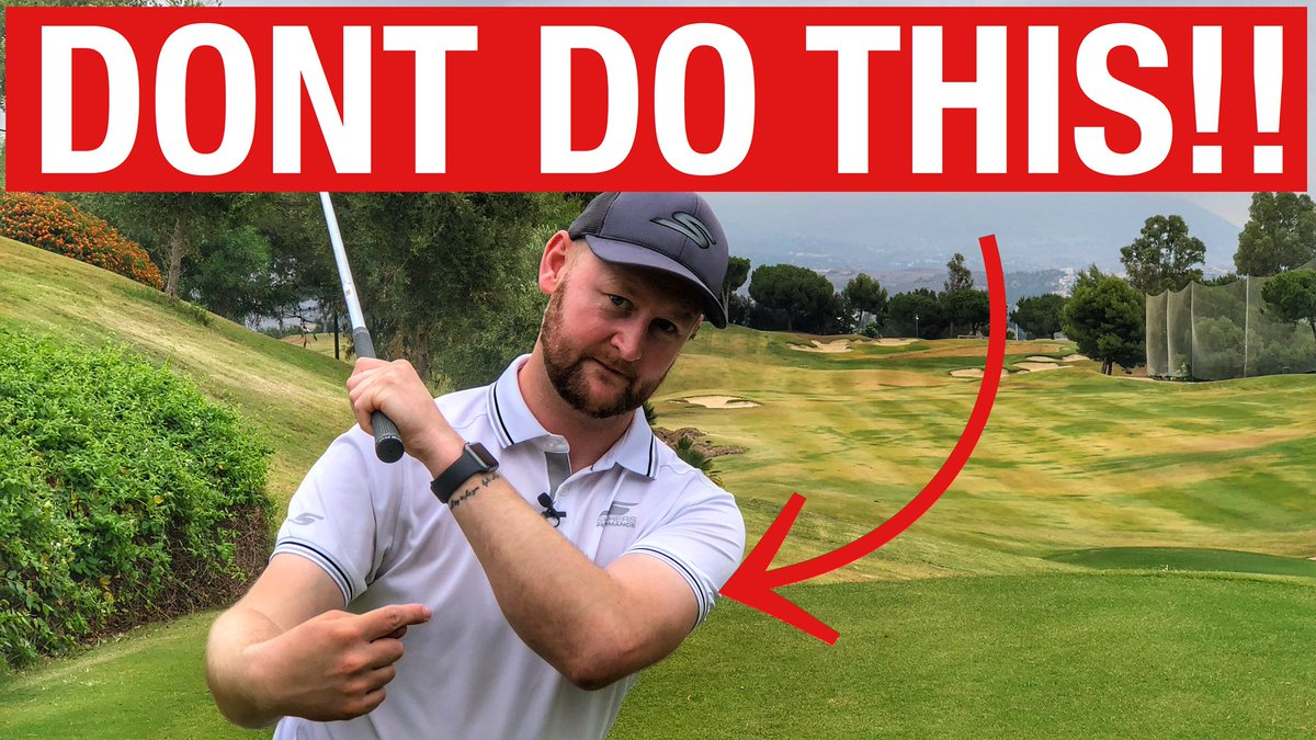 Is this happening in your swing?  https://youtu.be/G_qmWXOvozQ  🎥 Keep Your Left Arm STRAIGHT In The Golf Swin