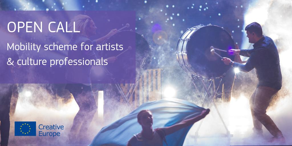 ⚡️Breaking⚡️ We just launched a call for organising the next 🇪🇺mobility scheme for artists & culture professionals ✈️🎭 Do you have what it takes to help us take creative mobility to the next level?    Have a look & apply before 27 Sep 👉https://europa.eu/!tq43Rb #EuropeForCulture