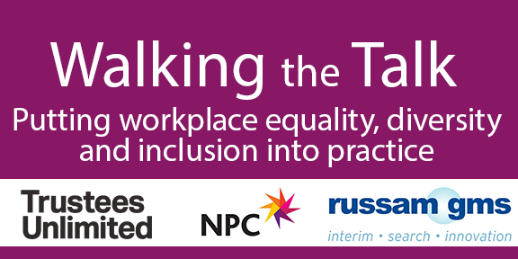 Why does the social sector lag behind on #Diversity? We've brought together perspectives from around the sector and outside it to discuss the issue and potential solutions. Find out more about #WalkingtheTalk here https://www.thinknpc.org/resource-hub/walking-the-talk-putting-workplace-equality-diversity-and-inclusion-into-practice/…