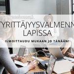 Image for the Tweet beginning: Kevytyrittäjyysvalmennusta Lapissa! Elo-syyskuun aikana toteutetaan