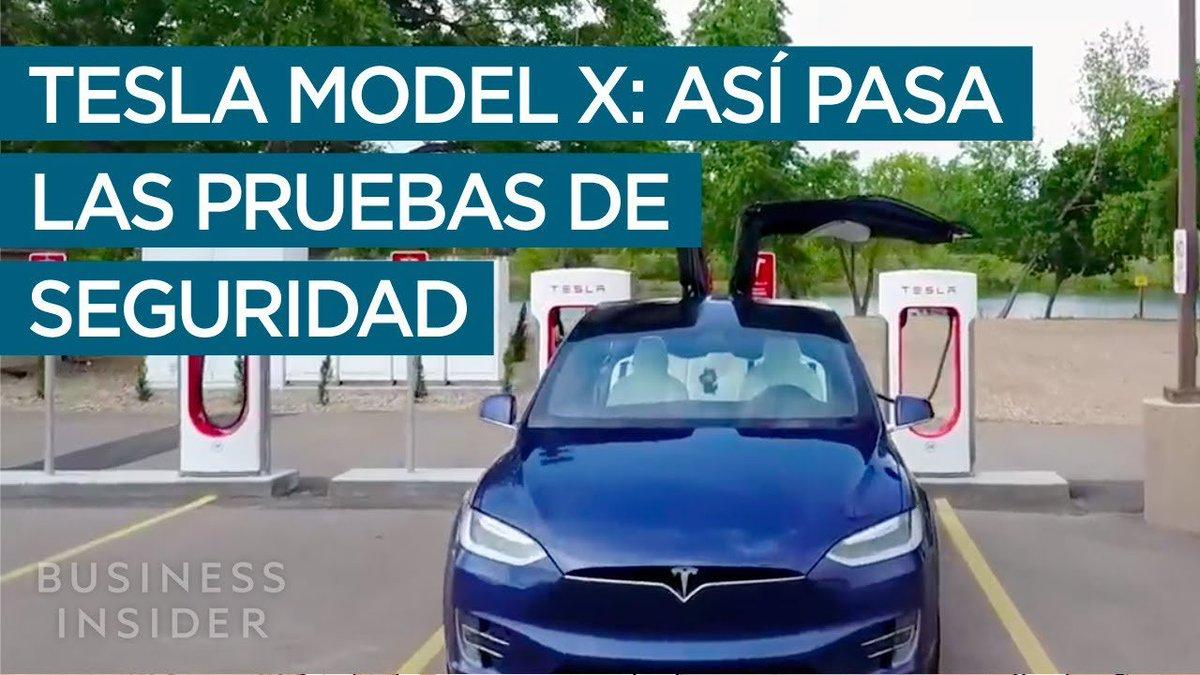 #Vídeo 📺 |Todo lo que rodea al Tesla Model X es digno de ser contado, por eso no podemos dejar de fascinarnos por cómo consiguió una puntuación perfecta en el test de seguridad.  Per-fec-ta.