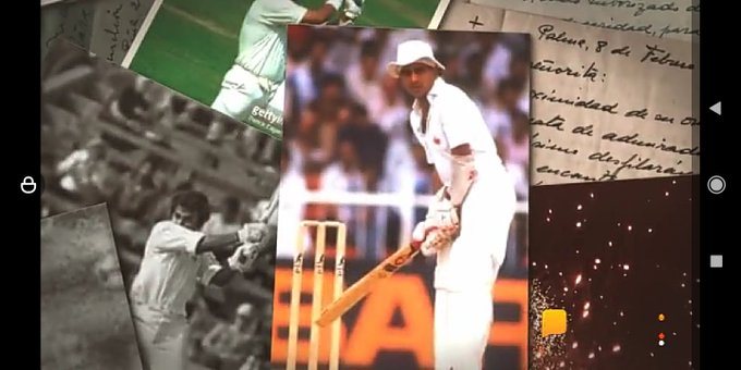 Today is the day of Sunil gavaskar sir is a legend player and player of 1983 world cup. Happy birthday sunny ji